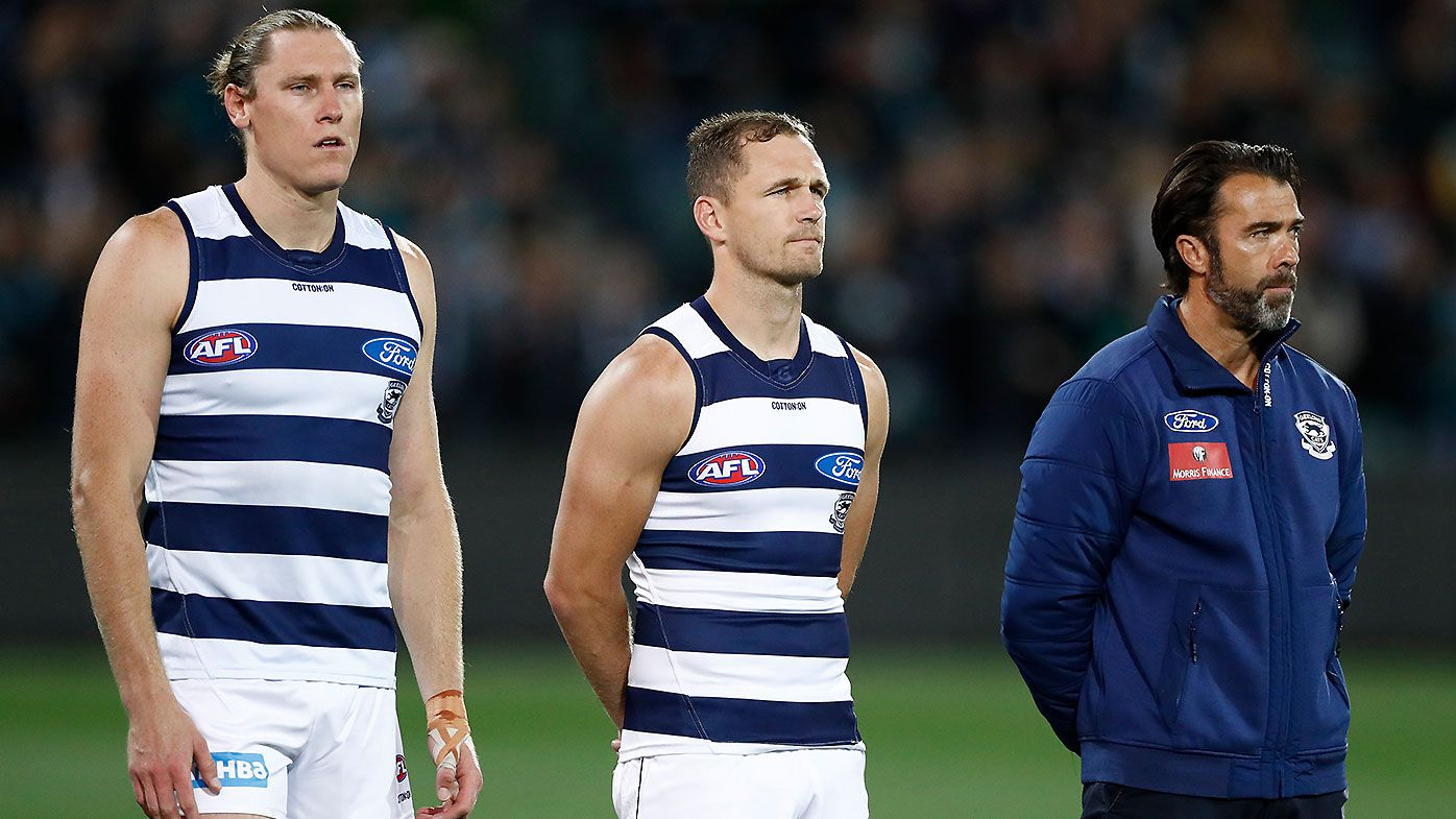 Mark Blicavs Joel Selwood Chris Scott
