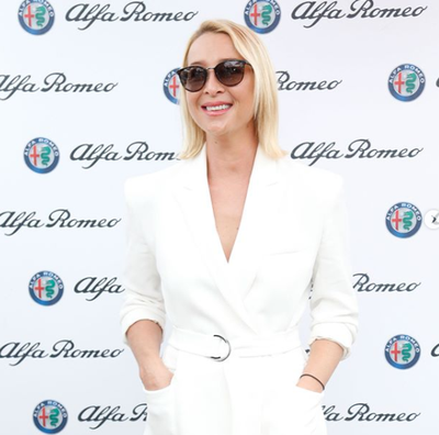 Actress Asher Keddie at the 2018 Portsea Polo
