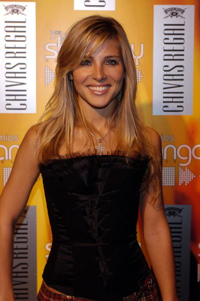 Elsa Pataky at the Shangay Prizes Express-Kid Regal in Spain in 2003