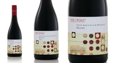 Aldi's One Road Shiraz was awarded Gold at the national Shiraz-exclusive competition. (Supplied)