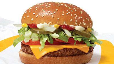 McDonald's trials McPlant burger