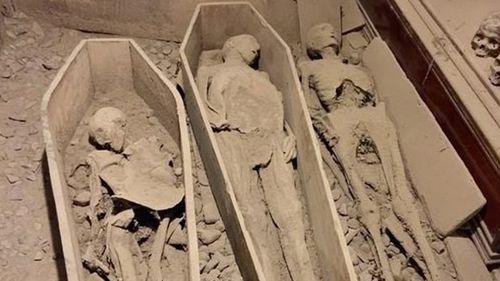800-year-old 'Crusader' mummy has been decapitated at an Irish church