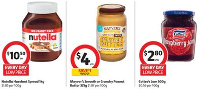 Coles is selling all your favourite spreads for half price this week.