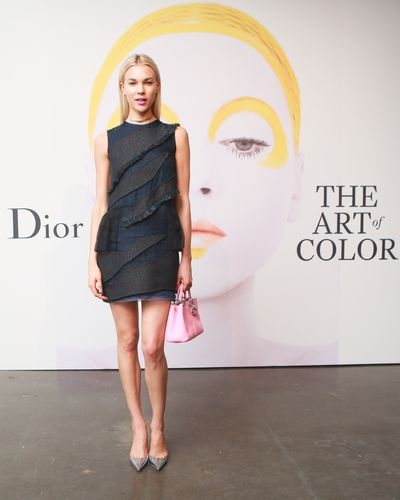 Britt Maren at the launch of Dior - The Art of Colour.