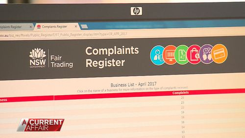 The complaints register gives a voice to consumers.