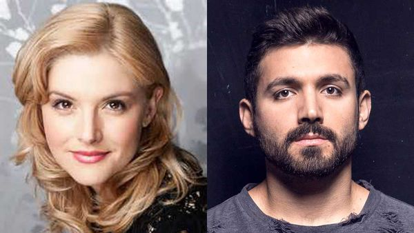 Lucy Durack and Alfie Arcuri