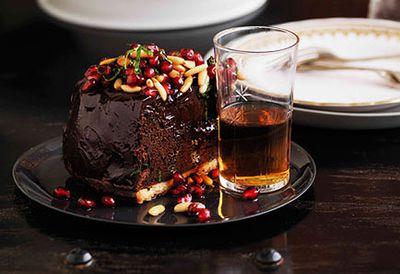 Chocolate mousse tart