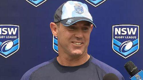 """New Blues coach Brad Fittler has described Crichton as """"super impressive."""" (9NEWS)"""
