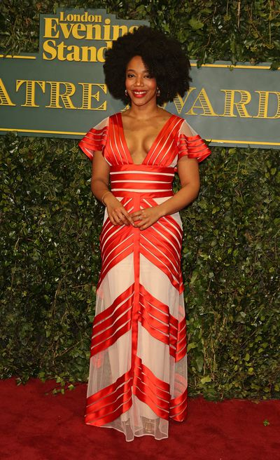 Naomi Ackie at the London Evening Standard Theatre Awards.