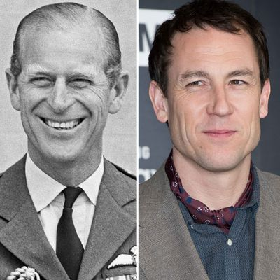 Prince Philip played by Tobias Menzies