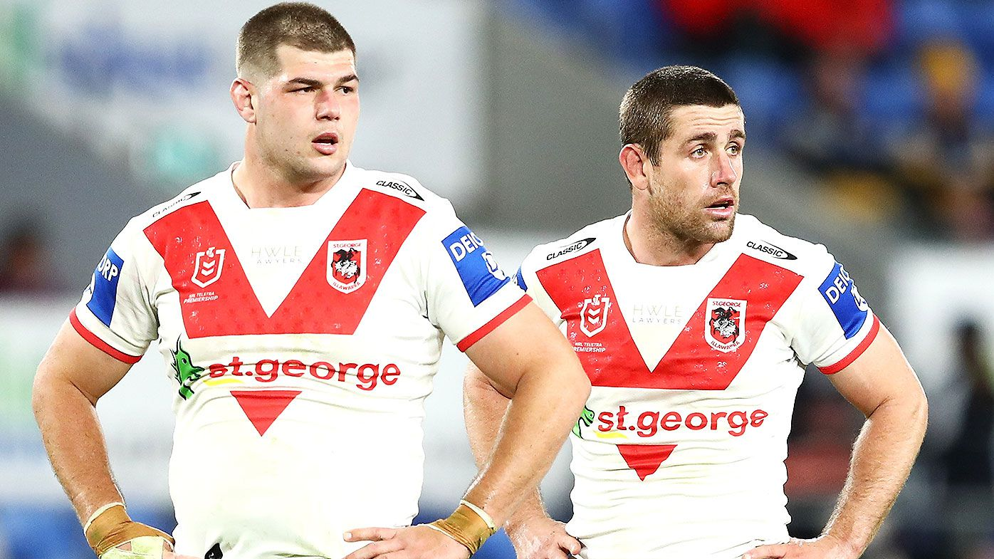 Dragons coach Anthony Griffin refuses to blame infamous house party for latest loss to Manly