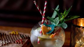 Gin Lane's 'Fishbowl' G&T for two