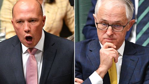 """Malcolm Turnbull says Peter Dutton has given him his """"absolute support"""" amid reports of a possible leadership spill."""