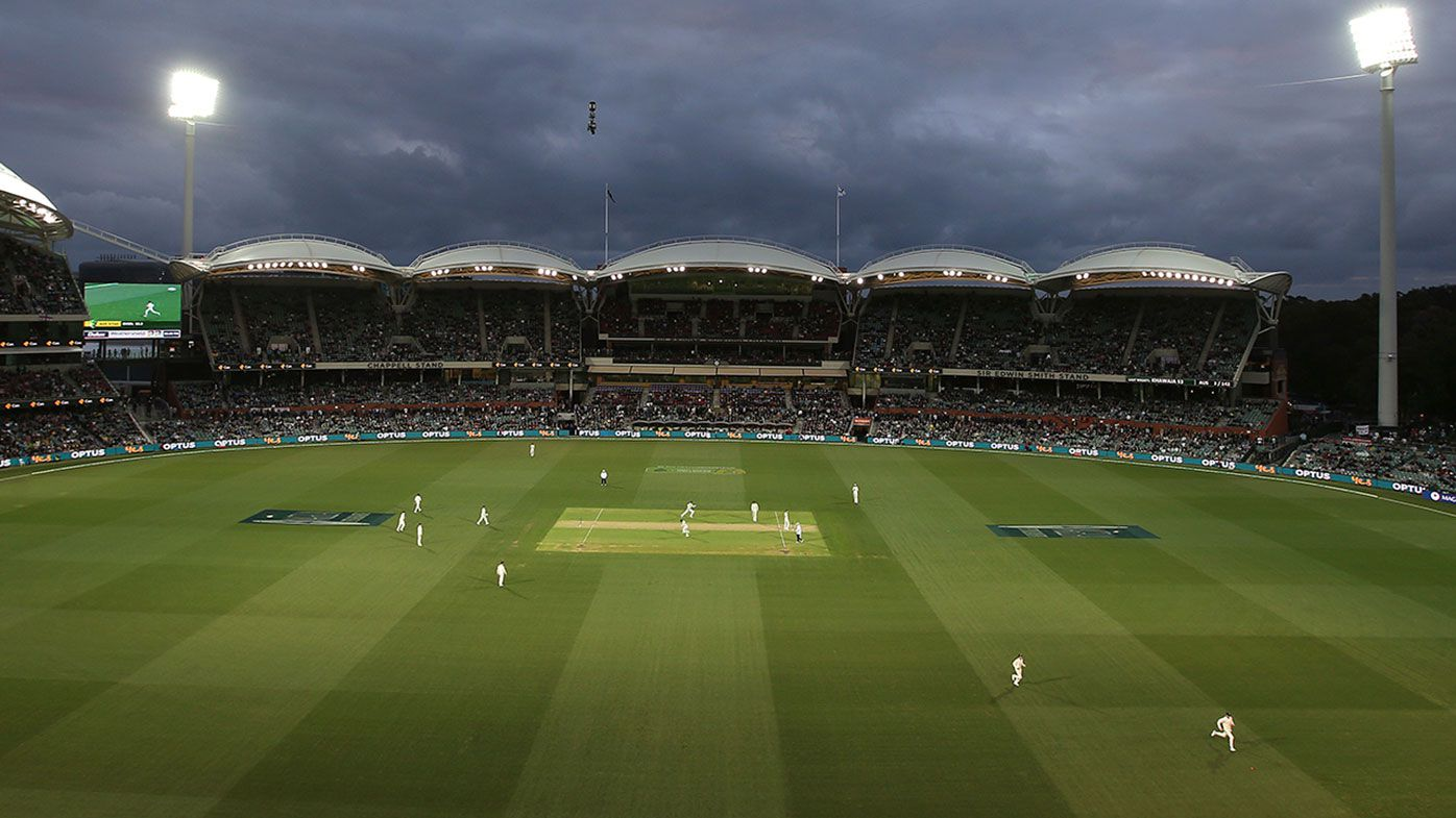 Day-night Test cricket in Adelaide.