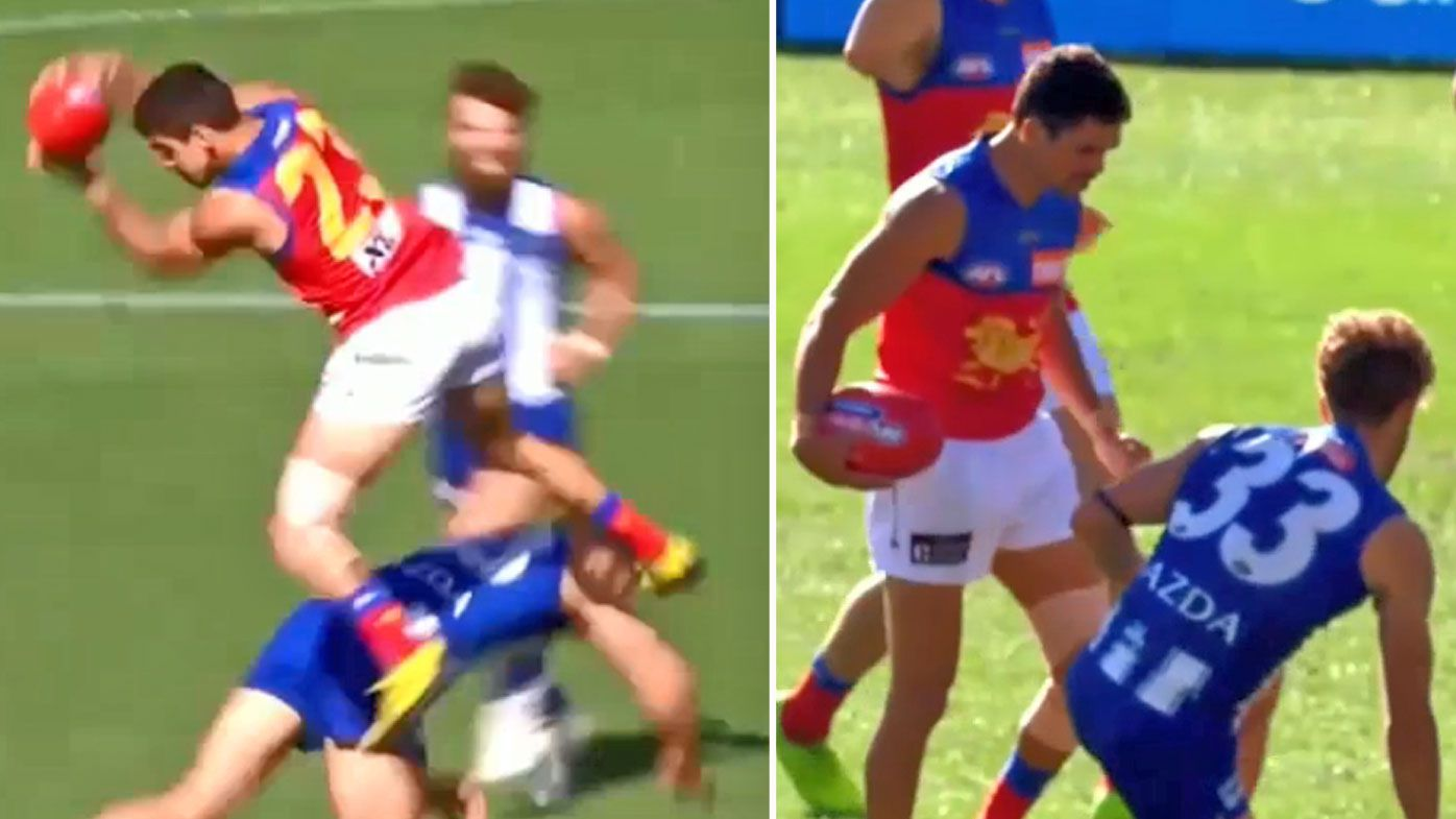 Charlie Cameron's swagger backfires in 'sloppy' Lions win over fast-finishing Kangaroos