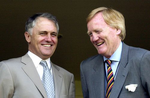 Prime Minister Malcolm Turnbull pictured with Mr Walker. (AAP)