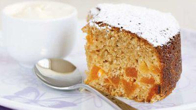 """Recipe:<a href=""""http://kitchen.nine.com.au/2016/05/13/11/41/one-cup-apricot-cake"""" target=""""_top"""">One cup apricot cake</a>"""
