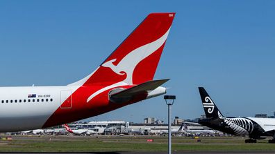 Qantas Air New Zealand (iStock)