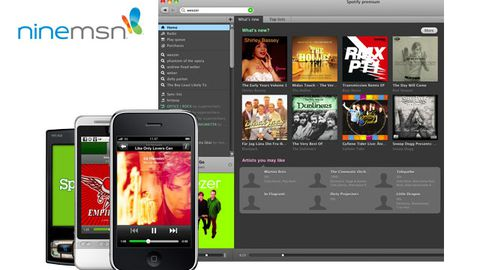 Spotify teams up with ninemsn