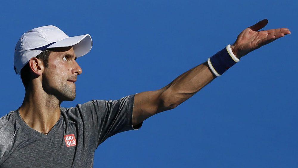 Novak Djokovic. (AAP)