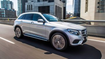 Mercedez-Benz is recalling several models, including the GLC class SUV. (AAP)