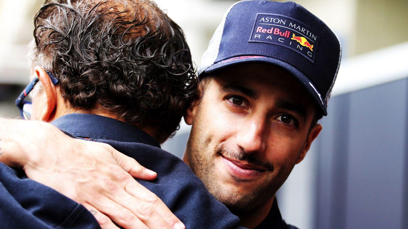 Ricciardo gone