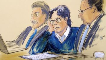 Leader of cult-like group NXIVM, Keith Raniere.