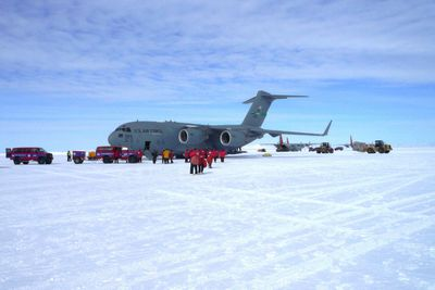 <strong>Antarctica: Sea Ice Runway</strong>