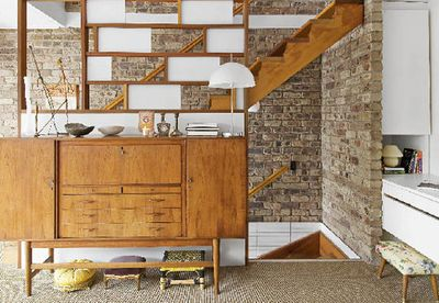 Let brick dictate your decor