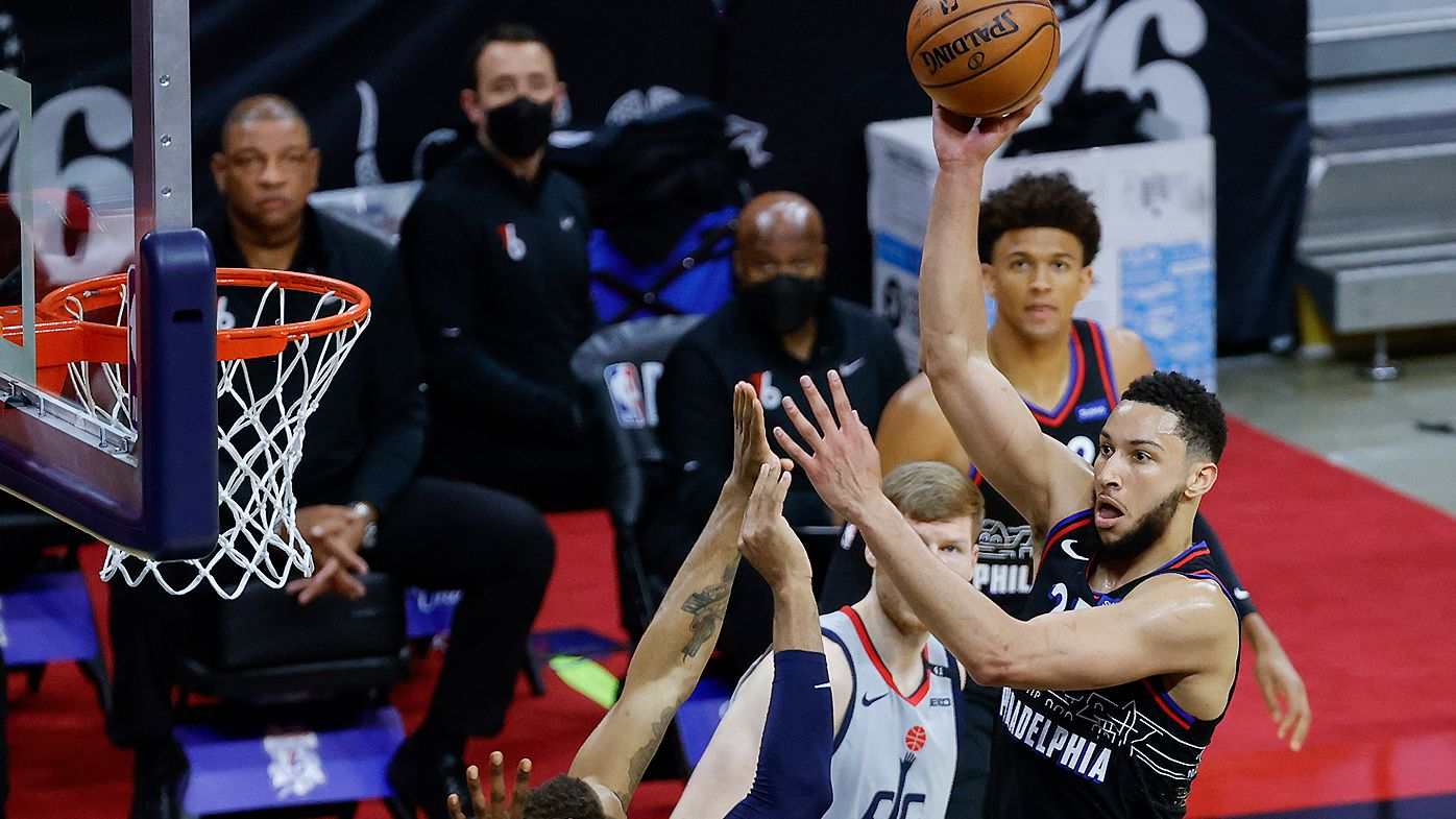'Shame on everyone': Philadelphia 76ers coach defends Ben Simmons as shooting criticism continues