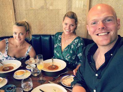 Jackie 'O' Henderson, Sophie Monk and Oscar Gordon