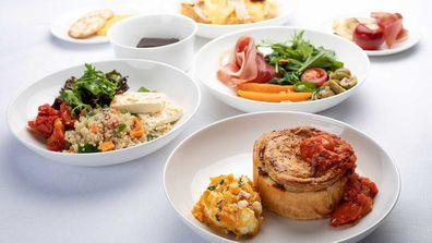 Virgin Australia unveil new business class menus