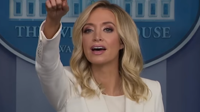 Kayleigh McEnany White House Briefing hand raised
