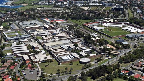 Skeleton staff remain on site at Long Bay Jail, one of the state's highest security prisons. Corrective Services have said there is no public safety risk.