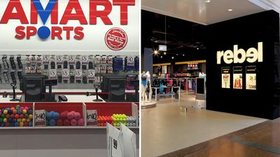 Amart stores to be converted into Rebel Sports stores