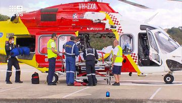 A woman was bitten by a shark at Shelley Beach, Port Macquarie.