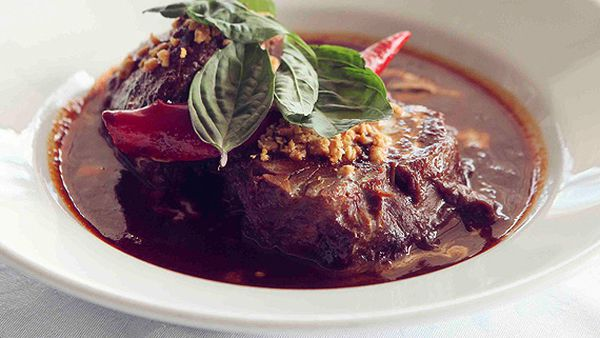 China Doll's Wagyu beef shin penang curry