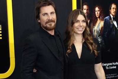 Sibi Blazic and actor Christian Bale.