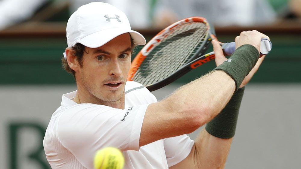 Andy Murray. (AAP)