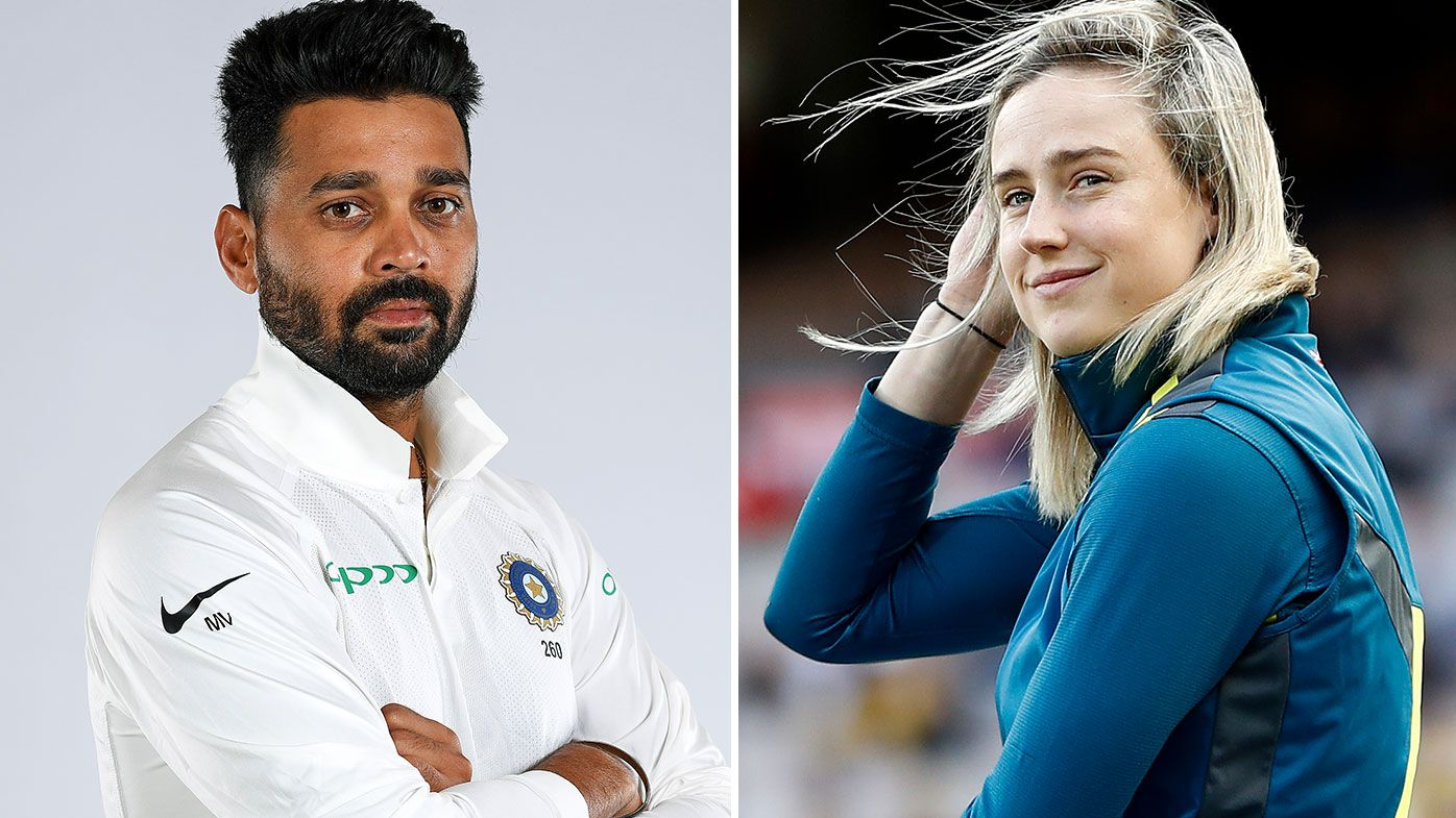 'I hope he's paying': Ellyse Perry's perfect response to Indian star Murali Vijay's dinner remark