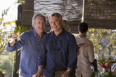 Bryan Brown, Sam Neill, Palm Beach movie