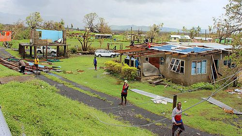 Cyclone Zena moves towards Fiji as disastrous floods claim  two lives