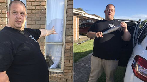 Resident Jeremy said he was ready to take on partygoers if they got violent. (9NEWS)