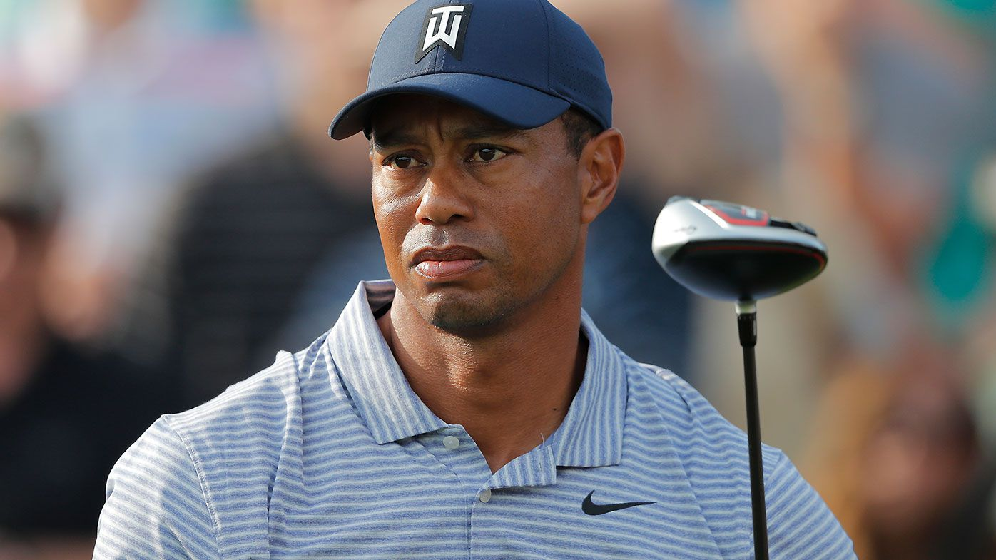 Tiger Woods racks up disastrous quadruple-bogey on day two of Players Championship