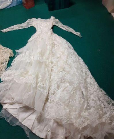 MIL wedding dress