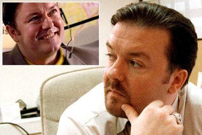 <B>You know him as...</B> David Brent, the world's most obnoxious boss in the original British version of <I>The Office</I>.<br/><br/><B>Before he was famous...</B> Just before <I>The Office</I> launched Ricky into the fame stratosphere, he appeared in another British cult comedy: <I>Spaced</I> (which launched the career of Simon Pegg, incidentally). In the 2001 episode, Ricky played a smarmy, sleazy office worker — not that unlike David Brent, really.