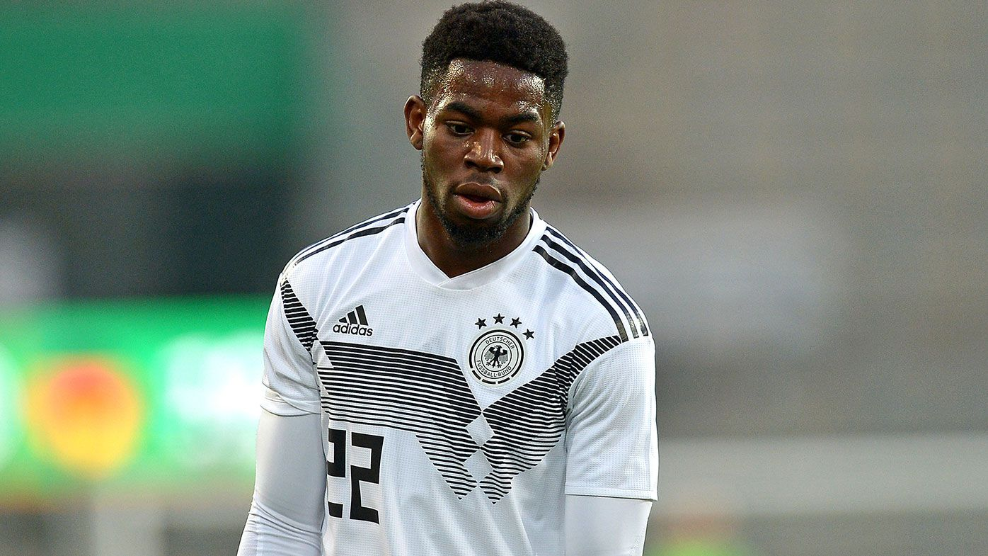 Jordan Torunarigha of Germany looks on during the International Friendly match between Germany and France at Stadion Essen on March 21, 2019 in Essen, Germany. (Photo by TF-Images/Getty Images)