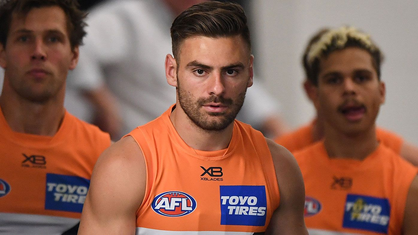 GWS drop captain Stephen Coniglio for Saturday's clash with Melbourne