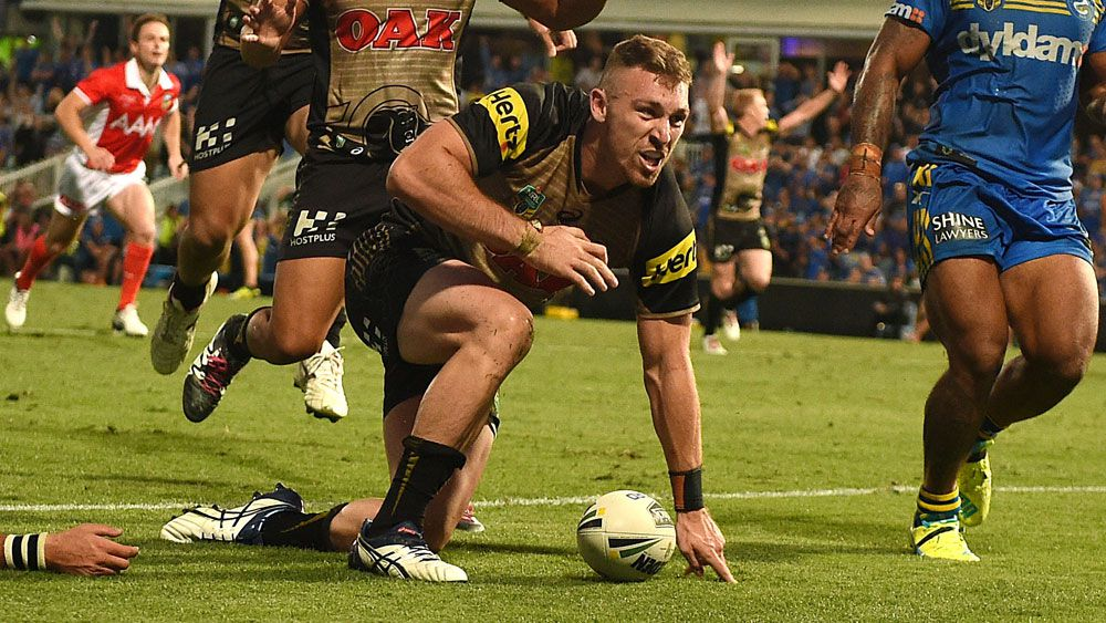 Cartwright scores on siren for Penrith win