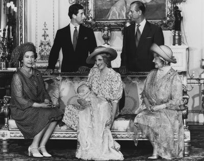 <p>The Queen is a loving mother, grandmother and great-grandmother</p>